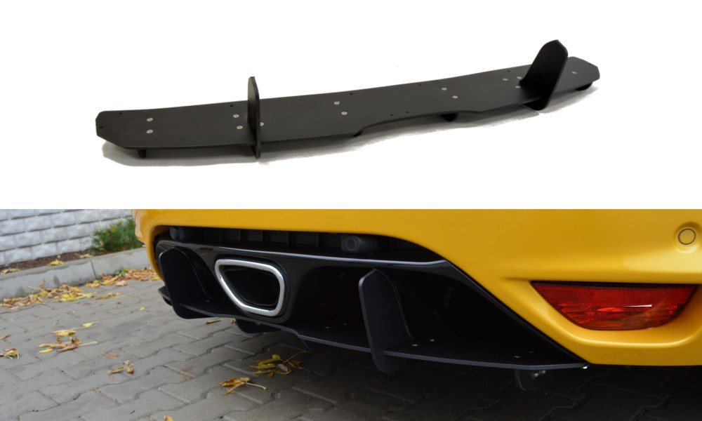 Dyfuzor Tylny Renault Megane III RS - GRUBYGARAGE - Sklep Tuningowy